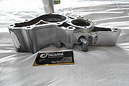 Aluminum Water Pump for Mozda RX7 BEFORE Chrome-Like Metal Polishing and Buffing Services / Restoration Services