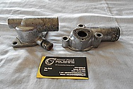 Jaguar Aluminum Water Pipe BEFORE Chrome-Like Metal Polishing and Buffing Services / Restoration Services