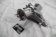 Toyota Supra Aluminum Water Pump BEFORE Chrome-Like Metal Polishing and Buffing Services / Restoration Services