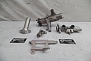 Toyota Supra 2JZ-GTE Aluminum Water Pump BEFORE Chrome-Like Metal Polishing - Aluminum Polishing