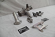 Toyota Supra 2JZ-GTE Aluminum Water Pump BEFORE Chrome-Like Metal Polishing - Aluminum Polishing