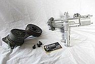 1993 - 1998 Toyota Supra 2JZ - GTE Aluminum Water Pump BEFORE Chrome-Like Metal Polishing and Buffing Services
