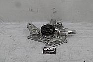 1973 Dodge Duster 6.4L Hemi Aluminum Water Pump BEFORE Chrome-Like Metal Polishing and Buffing Services - Aluminum Polishing
