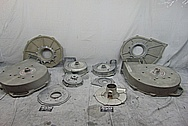 Fasco Aluminum Cast Liquid Pump BEFORE Chrome-Like Metal Polishing and Buffing Services - Aluminum Polishing Services - Cast Aluminum Polishing