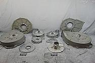 Fasco Aluminum Cast Liquid Pump BEFORE Chrome-Like Metal Polishing and Buffing Services - Aluminum Polishing Services - Cast Aluminum Polishing