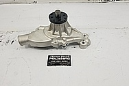 Aluminum Water Pump Housing BEFORE Chrome-Like Metal Polishing - Aluminum Polishing - Waterpump Polishing