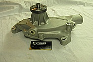 Chevrolet ZL-1 V8 Aluminum Water Pump BEFORE Chrome-Like Metal Polishing and Buffing Services