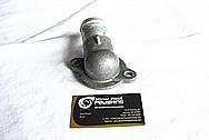 2006 Dodge Viper Aluminum Thermostat Housing BEFORE Chrome-Like Metal Polishing and Buffing Services