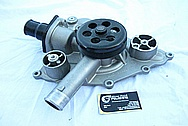 Dodge Hemi 6.1L Engine Aluminum Water Pump BEFORE Chrome-Like Metal Polishing and Buffing Services