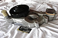 2011 Chevy LS1 Aluminum Water Pump BEFORE Chrome-Like Metal Polishing and Buffing Services