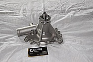 Engine Aluminum Water Pump BEFORE Chrome-Like Metal Polishing and Buffing Services / Restoration Services