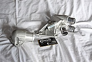 Ford Mustang Water Pump Piece BEFORE Chrome-Like Metal Polishing and Buffing Services / Restoration Services