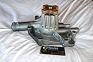 Mopar Aluminum Water Pump BEFORE Chrome-Like Metal Polishing and Buffing Services / Restoration Services