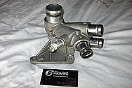 2010 Ford GT500 Aluminum Thermostat Housing Piece BEFORE Chrome-Like Metal Polishing and Buffing Services / Restoration Services