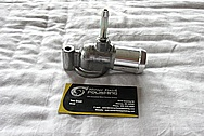 Aluminum Water Thermostat Housing Piece BEFORE Chrome-Like Metal Polishing and Buffing Services / Restoration Services