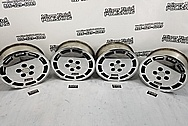 Ford Mustang Aluminum Wheels AFTER Chrome-Like Metal Polishing - Aluminum Polishing Services