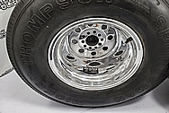Weld Racing Aluminum Wheels AFTER Chrome-Like Metal Polishing and Buffing Services - Aluminum Polishing - Wheel Polishing