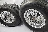 Porsche Aluminum Wheels AFTER Chrome-Like Metal Polishing and Buffing Services - Aluminum Polishing - Wheel Polishing