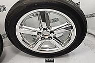 Aluminum Wheels AFTER Chrome-Like Polishing and Buffing - Aluminum Polishing - Wheel Polishing