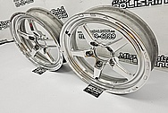 Weld Racing Forged USA Aluminum Wheels AFTER Chrome-Like Metal Polishing and Buffing Services - Aluminum Polishing Services - Wheel Polishing