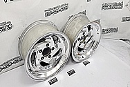 Dodge Viper Gen 4 Aluminum Wheels AFTER Chrome-Like Metal Polishing and Buffing Services - Aluminum Polishing - Wheel Polishing Service