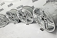 BMW Aluminum Wheels AFTER Chrome-Like Metal Polishing and Buffing Services / Restoration Services - Wheel Polishing