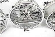 BBS Aluminum Mesh Style Wheels AFTER Chrome-Like Metal Polishing - Aluminum Polishing - Wheel Polishing