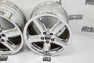 Mercury Marauder Aluminum Mesh Style Wheels AFTER Chrome-Like Metal Polishing - Aluminum Polishing - Wheel Polishing