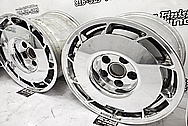 Aluminum Wheels AFTER Chrome-Like Metal Polishing and Buffing Services / Restoration Services - Aluminum Polishing - Wheel Polishing