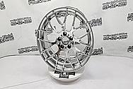 BMW Aluminum Wheels AFTER Chrome-Like Metal Polishing - Aluminum Polishing - Wheel Polishing Service