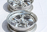 American Racing Aluminum Wheels AFTER Chrome-Like Metal Polishing and Buffing Services / Restoration Services