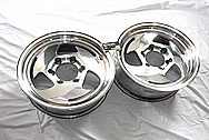 Aluminum Billet Specialties Wheels AFTER Chrome-Like Metal Polishing and Buffing Services / Restoration Services