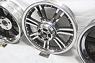 2013 Harley Davidson Tri-Glide Trike Aluminum Wheels AFTER Chrome-Like Metal Polishing and Buffing Services / Restoration Services