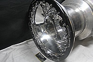 Billet Specialties Comp Series USA Wheel AFTER Chrome-Like Metal Polishing and Buffing Services / Restoration Services