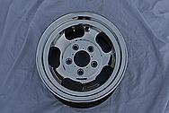 "14"" Racing Wheel AFTER Chrome-Like Metal Polishing and Buffing Services"