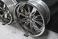 Boyd Aluminum Wheels AFTER Chrome-Like Metal Polishing and Buffing Services / Restoration Services