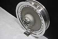 Aluminum Motorcycle Wheel AFTER Chrome-Like Metal Polishing and Buffing Services / Restoration Services