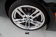 BMW Aluminum Wheel AFTER Chrome-Like Metal Polishing and Buffing Services / Restoration Services