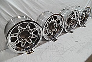 Aluminum Foose Wheel AFTER Chrome-Like Metal Polishing and Buffing Services / Restoration Services