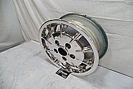 Porsche Magnesium Wheel AFTER Chrome-Like Metal Polishing and Buffing Services