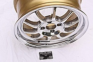 Drag DR16 Aluminum Spoked Wheel AFTER Chrome-Like Metal Polishing and Buffing Services