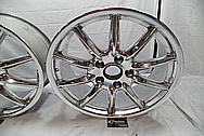 "19"" Porsche Aluminum Wheels AFTER Chrome-Like Metal Polishing - Aluminum Wheel Polishing"