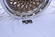 Pontiac Trans Am GTA Aluminum Wheel AFTER Chrome-Like Metal Polishing and Buffing Services