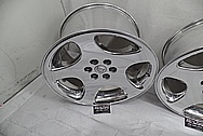 1998 Dodge Viper Aluminum Stock Wheels AFTER Chrome-Like Metal Polishing and Buffing Services - Aluminum Polishing