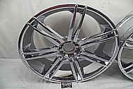 "28"" Aluminum Wheels AFTER Chrome-Like Metal Polishing and Buffing Services - Aluminum Polishing - Wheel Polishing"