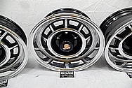 1987 Buick Grand National Aluminum Wheels AFTER Chrome-Like Metal Polishing - Aluminum Polishing Services - Wheel Polishing Services