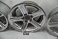 Ford Lightning Aluminum Wheels AFTER Chrome-Like Metal Polishing - Aluminum Polishing Services - Wheel Polishing Services
