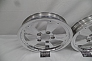 American Racing Aluminin Drag Racing Wheels AFTER Chrome-Like Metal Polishing - Aluminum Polishing Services
