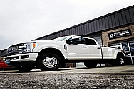 Ford 3500 Series Platinum Edition Truck Aluminum Wheels AFTER Chrome-Like Metal Polishing - Aluminum Polishing Services