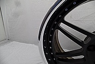 Chevy Corvette I-Forged Aluminum Wheels AFTER Chrome-Like Metal Polishing and Buffing Services - Aluminum Polishing Services
